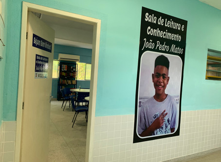 Sala de Leitura em SG homenageia João Pedro