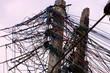 Quatro foram presos furtando energia em São Gonçalo