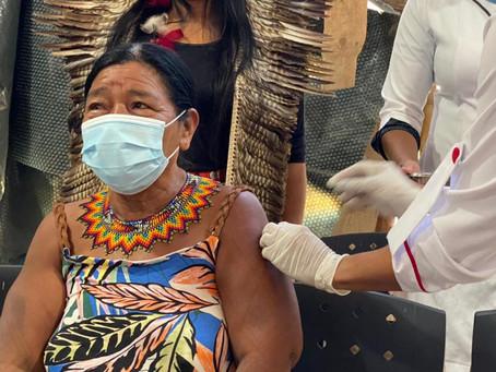 Maricá vacina população indígena contra Covid-19