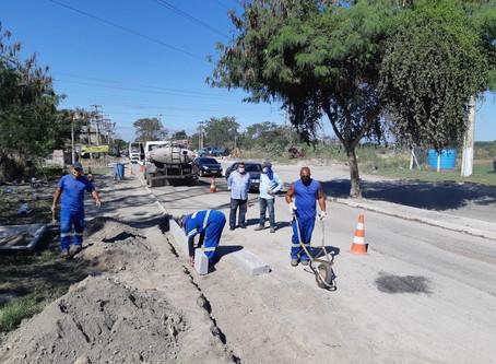 Guaxindiba ganha obras de infraestrutura