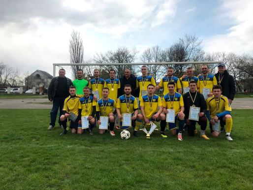 У фіналі кубка з футболу зійшлися команди з Рукшина та Кельменців