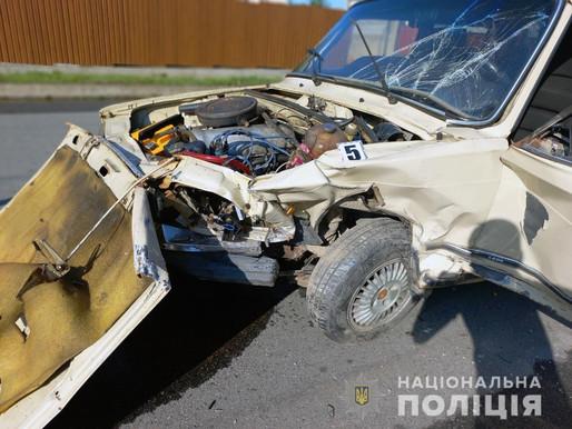 Аварію з двома потерпілими задокументували поліцейські у Дністровському районі