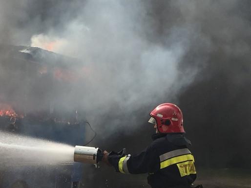 Під час руху загорівся вантажний фургон
