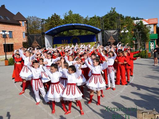 Яскрава концертна програма відбулася у місті з нагоди 30-ї річниці Незалежності