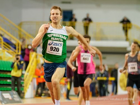 Олег Миронець здобув перемогу на чемпіонаті України та встановив особистий рекорд