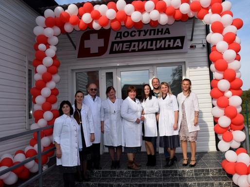 У Недобоївцях урочисто відкрили новозбудовану амбулаторію