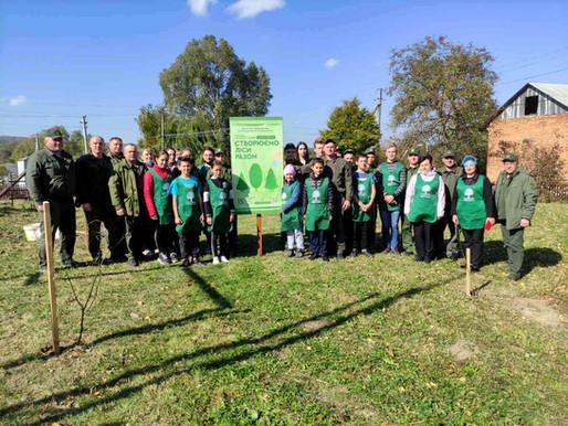 Акція «Створюємо ліси разом» розпочалася на Хотинщині