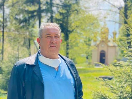 Олександр Каштелян, який чергував 7 діб поспіль, отримав звання Заслуженого лікаря