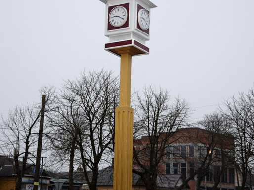 Запрацював міський годинник – родзинка і пам'ятка Хотина