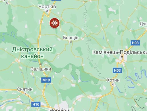 Поштовхи від землетрусу відчули і на Буковині
