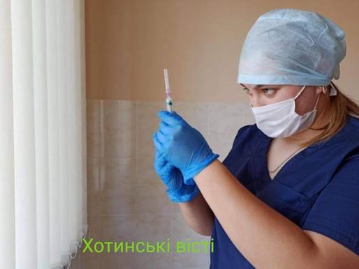 Вакцинація на Хотинщині