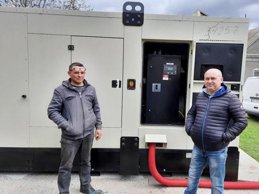 Потужний дизельний генератор встановили у Хотинській лікарні