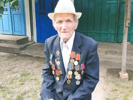 Ветеран з Перебиківців святкував 95-річчя