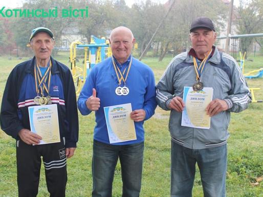Спортсмени з Хотинщини стали призерами Кубка України з легкої атлетики МАСТЕРС
