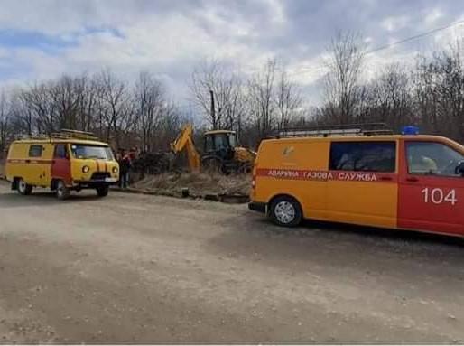 На підвідному газопроводі до Хотина сталася аварія