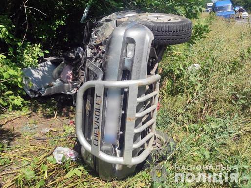 У ДТП загинув водій позашляховика