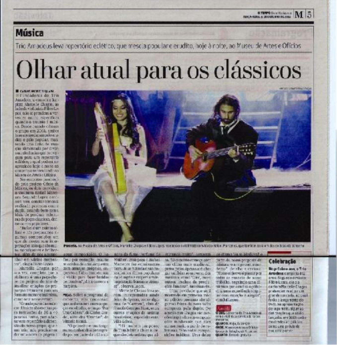 Jornal O Tempo - 08.10.2012