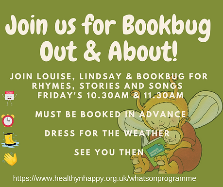 Bookbug Out & About 10:30 Session