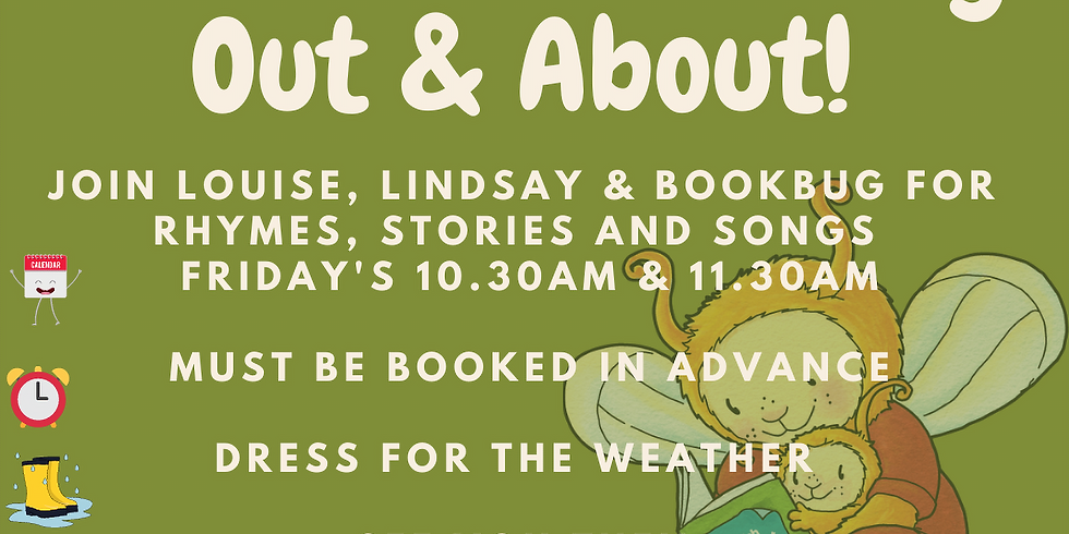 Bookbug Out & About   11:30 Session