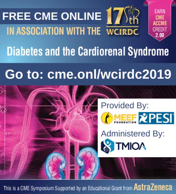 17th WCIRDC Free CME Online AZ with addr