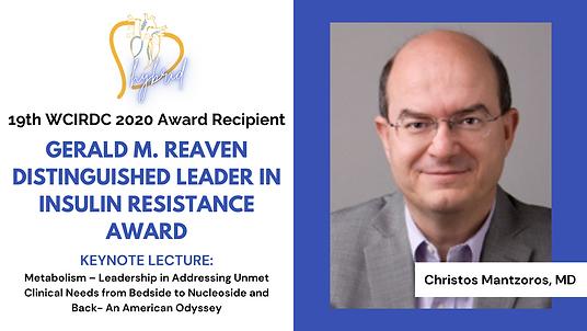 19th WCIRDC 2020 Award Recipient - Mantzoros, MD.png