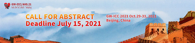 GW-ICC 2021 CALL FOR ABSTRACTS banner.jp