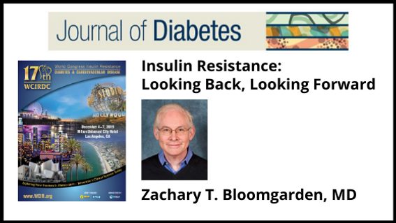 Journal of Diabetes Bloomgarden Keynote