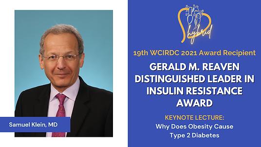 19th WCIRDC 2021 Award Recipient - Sam Klein, MD.png