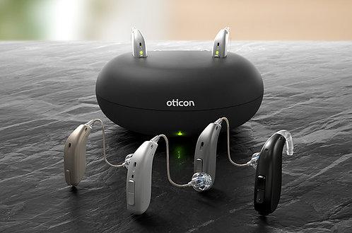 Oticon Opn S 1 miniRITE T R, 2 Hörgeräte inkl. Akku und Ladestation