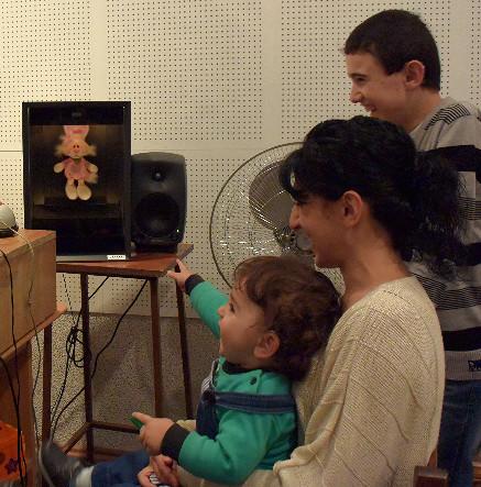 Hörtest mit Kleinkind, Armenien