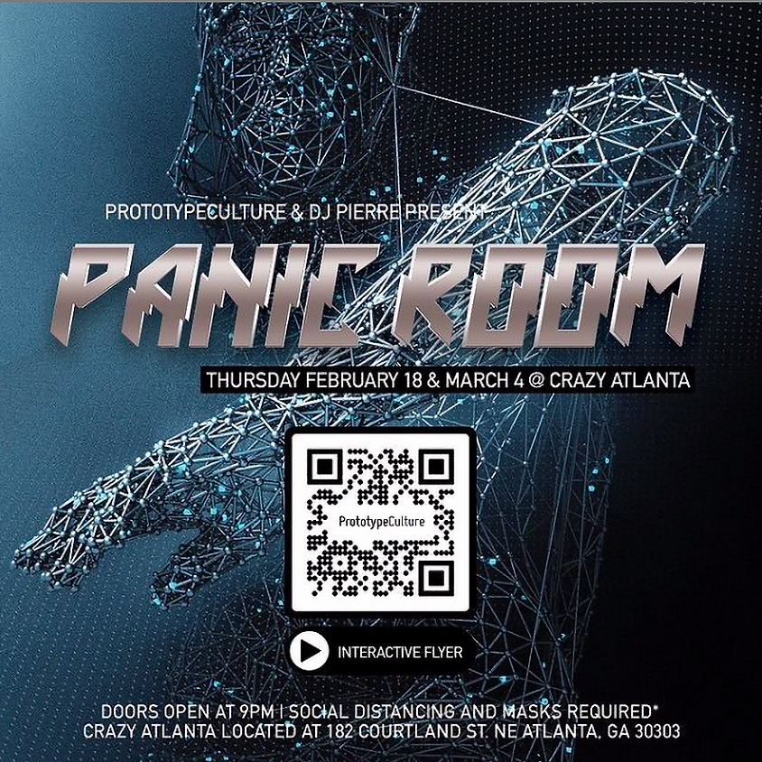 PANIC ROOM by Prototype Culture & DJ Pierre MARCH