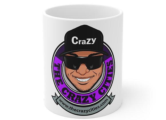 Mug 11oz the crazy cities George
