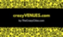 Yellow Pattern Black Bar Business Card.p