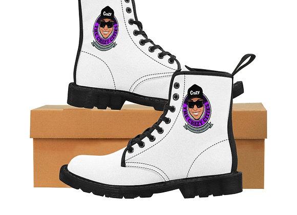 Men's Canvas Boots crazy george