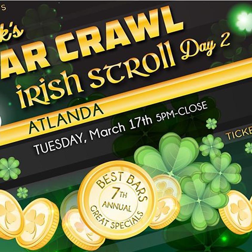 Atlanta's Biggest Annual St. Patrick's Bar Crawl Party Day 2