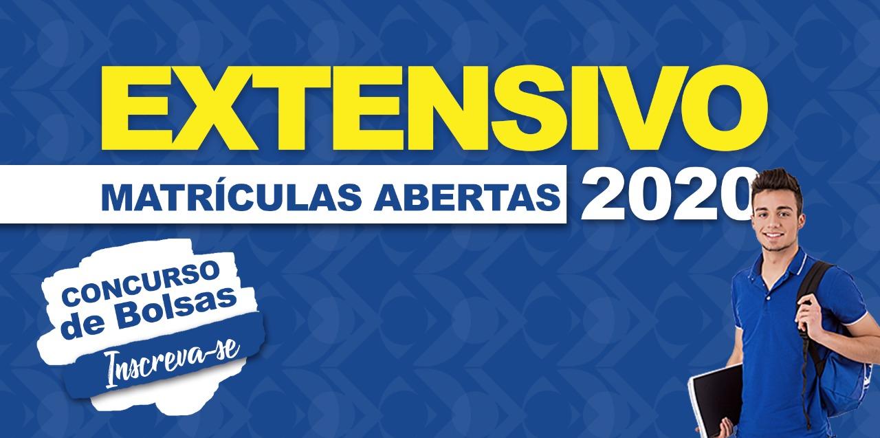 Banner de site Extensivo 2020