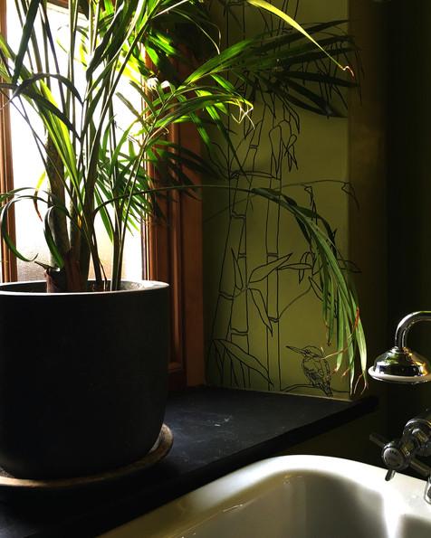 'BAMBOO BATHROOM' DETAIL