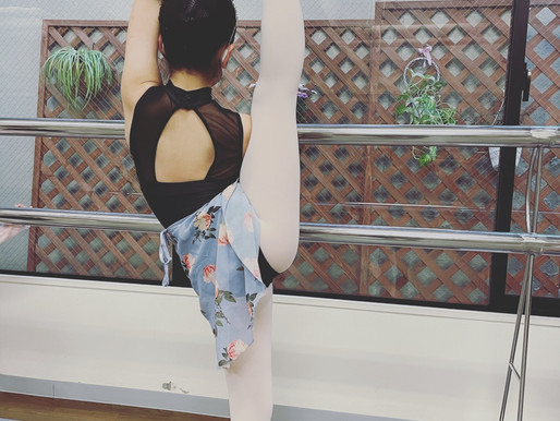 バレエで柔軟性を高めよう☃️