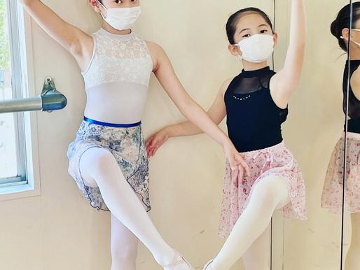 日曜日は午前中赤坂スタジオ→午後六本松教室バレエレッスン参加でさらにレベルアップ✨🎵