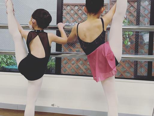 バレエレッスンで美脚効果✨