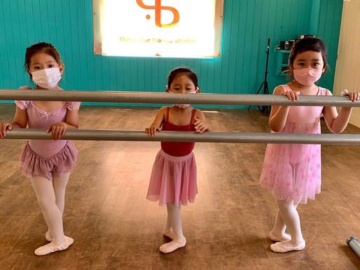 クラシックバレエレッスンで集中力アップ💐