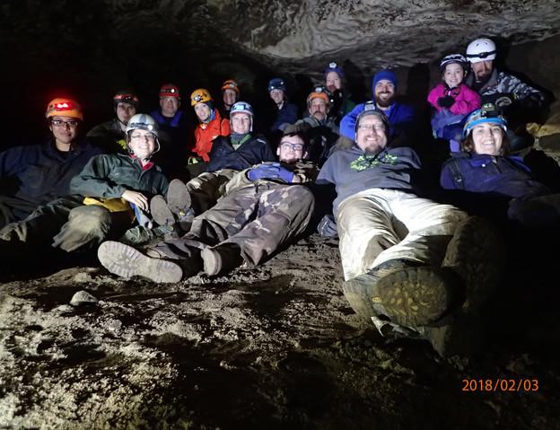 A Caravan of Cavers February 3, 2018