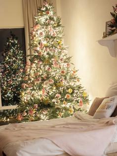 7ft Artificial Christmas Tree Snow White