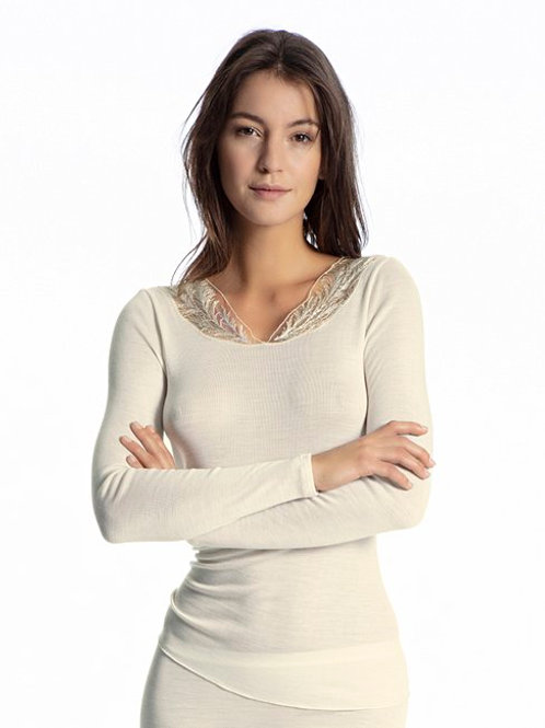 Wool mix - Top Laine/ Tencel - Ivoire - CALIDA