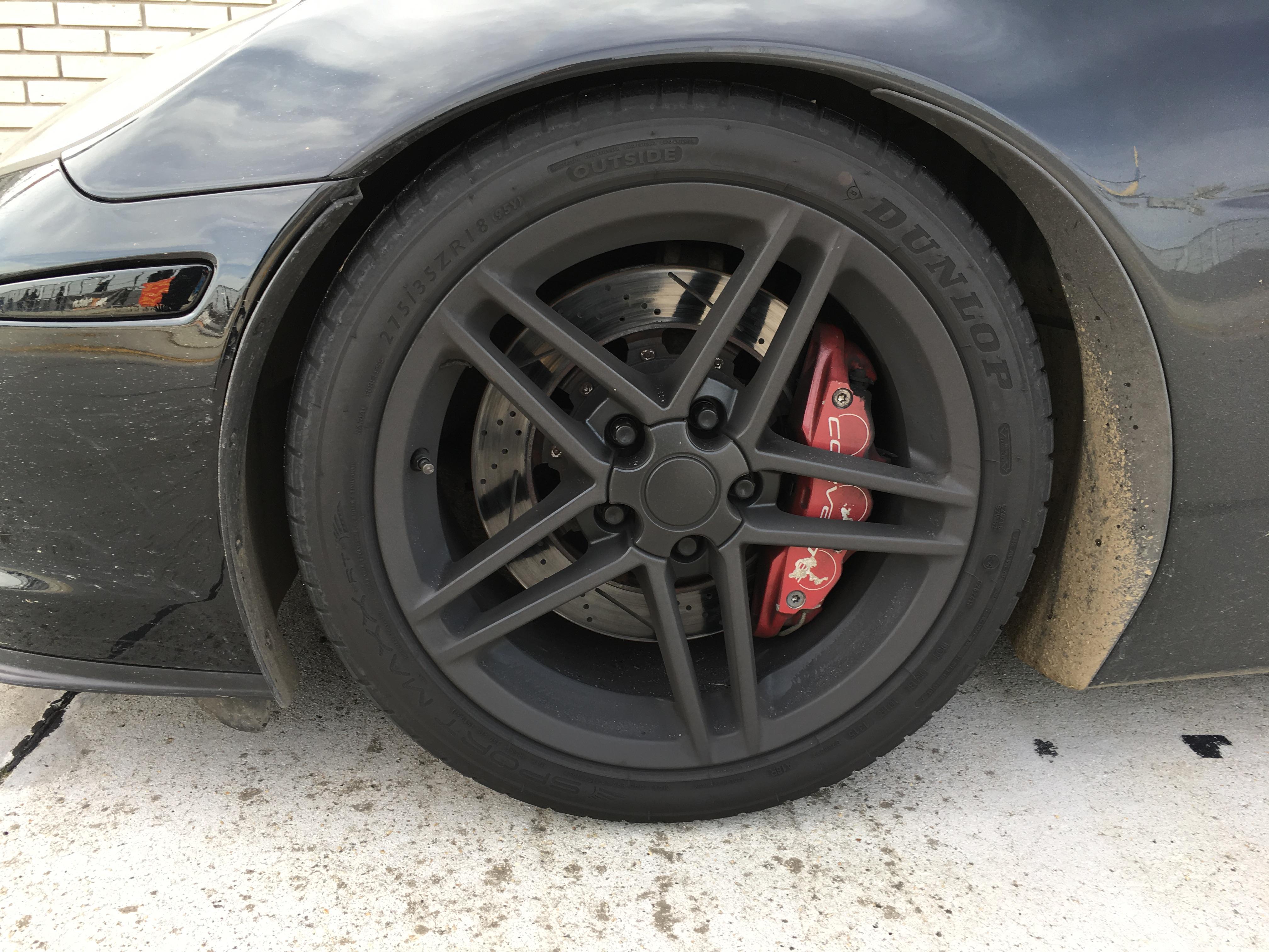 Corvette C6 Z06 Reifen