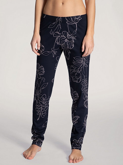 Pantalon détente coton (29455) - marine - CALID