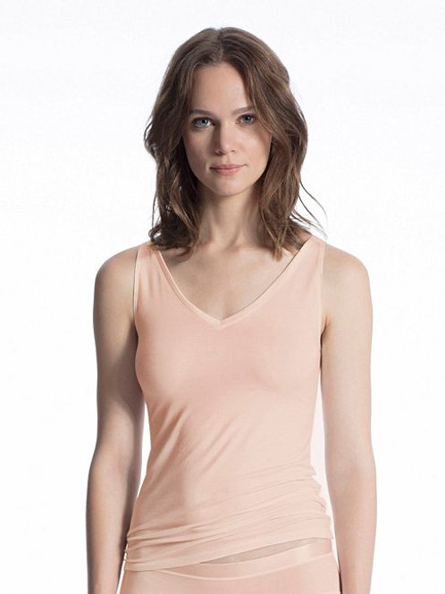 Cate - Top sans manches - Poudre - CALIDA