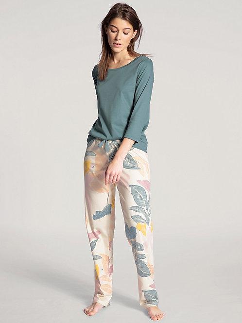 Pantalon détente coton (29750) - crème - CALID