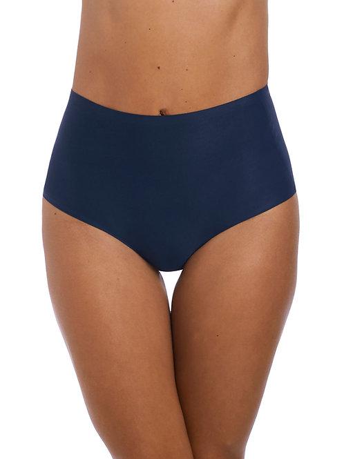 Slip taille haute sans couture FANTASIE Bleu marine
