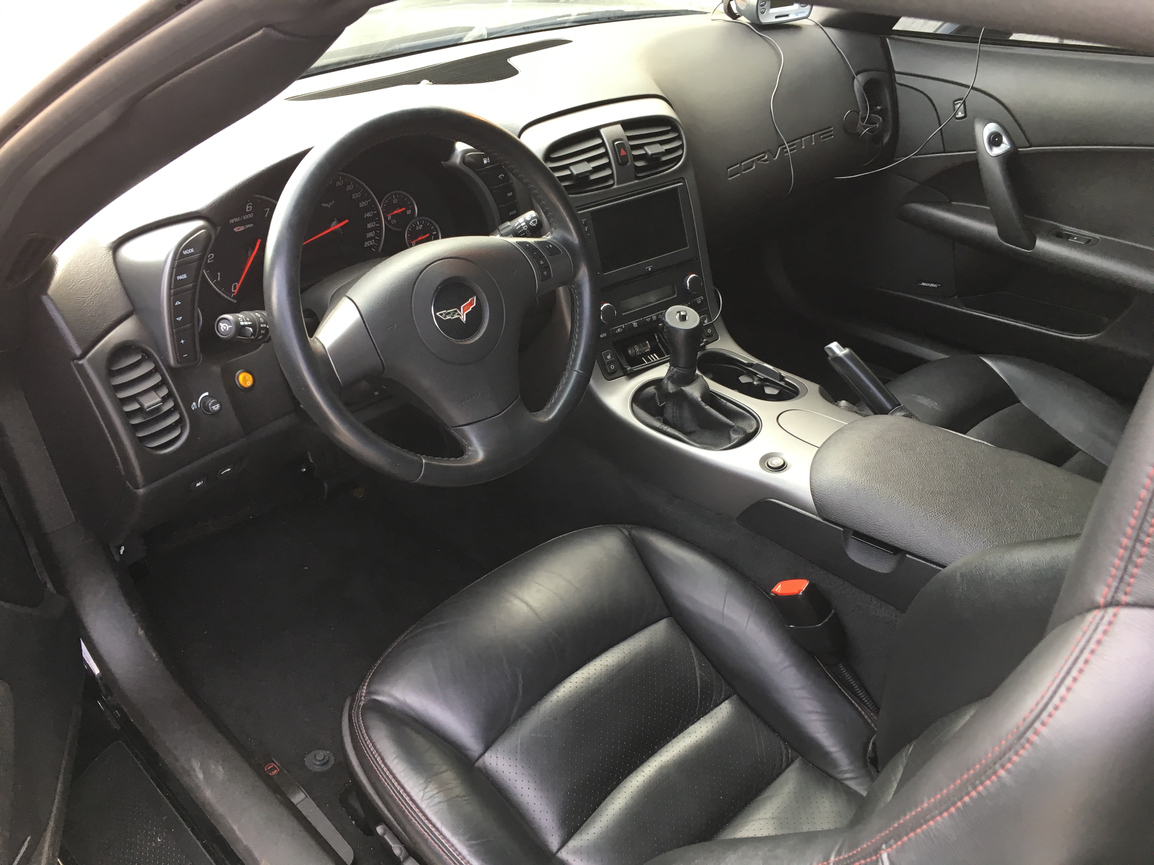 Corvette C6 Z06 Cockpit